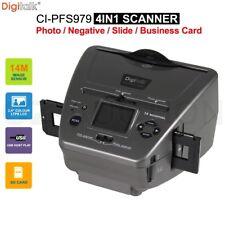 Digitalk 4 in 1 Combo Photo Film Slide Scanner 14MP