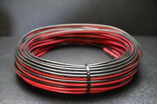 12 GAUGE 25 FT RED BLACK ZIP WIRE AWG CABLE POWER GROUND STRANDED COPPER CAR