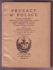 Polish Play Booklet - Prusacy w Polsce - Prussians in Poland- Sajewski Publisher