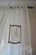 Vorhang* Amorin 90x240cm, Landhausgardine, Shabby Chic Gardine,Schal