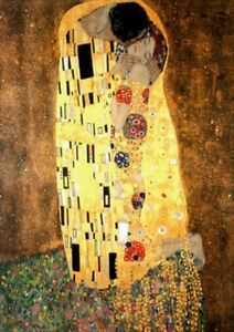 Gustav Klimt The Kiss Puzzle 1000 pcs Jigsaw puzzles TOMAX Art Vintage Toys Gift