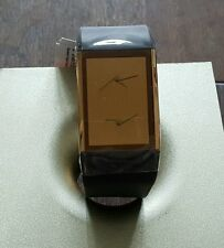 NEW in BOX Philippe Starck PH 5025Stainless Steel Rose Gold Plated Case Watch