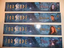 Farscape Set Of 4 Bookmarks Zhaan Crichton Aeryn Pilot