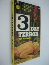 3 DAY TERROR...Vin Packer...Gold Medal 689...1st Paperback
