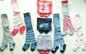 Kinder Strumpfhosen Baby Strumpfhosen Gr 56-98 Baumwolle Pomotive NEU