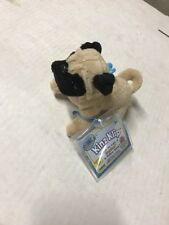 Webkinz Kinz-Klip Pug With Online Code To Collect And Love Ganz