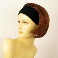 headband wig short brown copper wick light blonde and red ref: AMANDA 33h130
