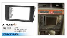 Xtrons Double Din Car Radio Install Fascia Facia Fitting Kit for Audi A6 Allroad