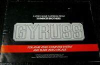 Atari 2600 Gyruss Manual Instruction Booklet