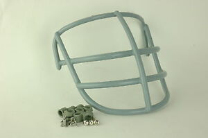 1969 NJOP Clip On Suspension Football Helmet Face Mask with Clips