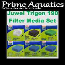 JUWEL TRIGON 190 COMPLETE FILTER MEDIA SET  NEW BOXED