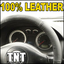 LEATHER Steering Wheel Cover Audi A2 A3 A4 A6 A8 TT Coupe 80 A5 S4 S6 RS4 RS6 S8