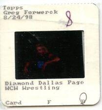 (Menge Of 2) 1998 Topps Wcw Wrestling Chrom Finale Slide Negative