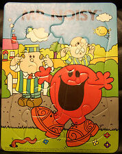 Mr. Noisy Mr. Man Frame Tray Puzzle, Nice! 1983, Roger Hargreaves
