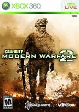 Call of Duty Modern Warfare 2 MW2 (Microsoft Xbox 360) - Tested complete