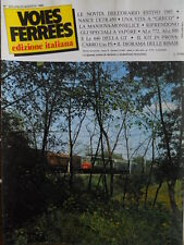 Voies Ferrees 22 1985 Nasce ETR 450 - Mantova Monselice - ALn 772 ALe 880 in H0