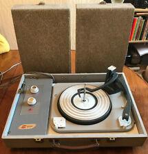 Very Rare Vintage BRC British Radio Corporation Record Player Detachable Speaker