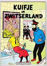 KUIFJE / TINTIN IN ZWITSERLAND (18+ Parodie) Caramba Publicaties 1981 VERY RARE