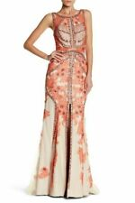 NWD $1295 Terani Couture Sleeveless Crystal Embellished Lace Gown [SZ 14 ] #e460