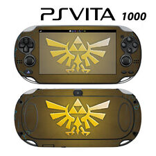 Vinyl Decal Skin Sticker for Sony PS Vita PSV 1000 Zelda Triforce Logo