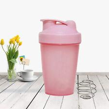400ML Sport Shaker Bottle Whey Protein Powder Mixing Bottle Fitness Shaker/c2