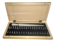 Universal Ring Sizer Stick and Gauges In Wooden Box 1 to36 Ring Sizer-US /EUROPE