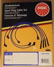 NGK Spark Plug Lead SET RC-TX35 for Toyota 4AGE 16 Valve AW11 MR-2 AE82 Corolla