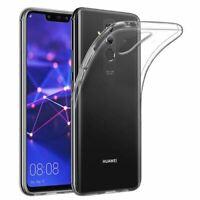 HUAWEI MATE 20 LITE Silikon Schutz Hülle TPU Case Gel Cover - Transparent Klar