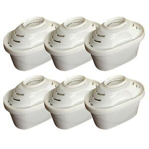 6 x To Fit BRITA Maxtra Water Filter Jug Replacement Cartridges Refills UK Pack