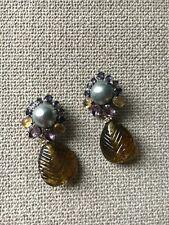 d03c4cb58c8 Pendientes de joyería con gemas clips | Compra online en eBay