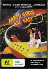 EARTH GIRLS ARE EASY - JIM CARREY & GEENA DAVIS - NEW DVD FREE LOCAL POST