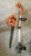 Black & Decker 40V Cordless Blower & Trimmer Edger w/o batteries Lsw36 Lst136