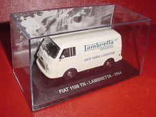 FIAT 1100 TN ASSISTANCE LAMBRETTA INNOCENTI 1964 1/43 IXO EN BOITE