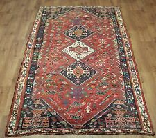OLD WOOL HAND MADE PERSIAN ORIENTAL FLORAL RUNNER AREA RUG CARPET 283 X 125 CM