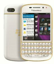 BRAND NEW BLACKBERRY Q10 UNLOCKED PHONE - LTD EDITION 16GB - BB10 - 4G - 8MP CAM
