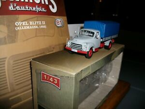 Camions Autrefois N°81: Opel Blitz II 1952 avec sa revue