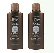 NISIM ANTI DHT HAIR LOSS TREATMENT SHAMPOO OILY Greasy scalp mens women SLS Free