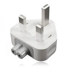 2 x Genuine Official Apple UK iPad Air Pro iPhone 6 6s MacBook, Adapter Plugs.