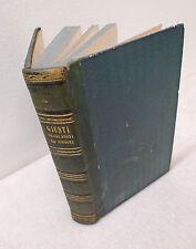 Giuseppe Giusti,VERSI EDITI ED INEDITI,1852 Le Monnier,edizione postuma[poesia