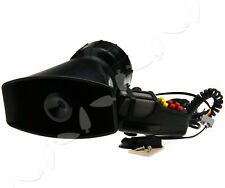 115db 12V Loud Horn Siren For Car Boat Van Truck 7 Tone PA System Mic