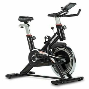 Velo Appartement Professionnel Spinning Bike Ecran LCD Capteur Cardiaque Fitness