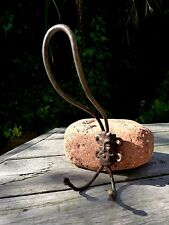 Antique Vintage Metal Hat Coat Hook, Collector, Project, Home, Pub, Loft, Farm