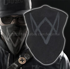 Dark gray WATch dogs 2 mask Marcus Holloway 's Mask Cosplay cotton Rib fabrics