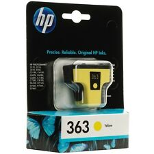 HP 363 Yellow (C8773EE) Ink Cartridge with Vivera HP Inks Boxed Photosmart D7463