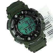 Casio Protrek PRG250B-3D Camouflage Patter Belt COD PayPal Free Ship