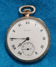 315 Running Pocket Watch – Ie053 New listing Vintage 12 Size Elgin Grade