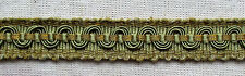 Vintage French Trim Gold Sage Green w/Gold Metallic Accents