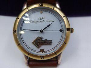 Diamondbacks Inaugural Season 1998 Limited Edition Watch Bank One Ballpark Mint!