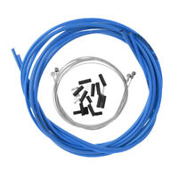 Bike Brake Cable Kit Bicycle Front /& Rear Brake Wires Shift Cable Blue