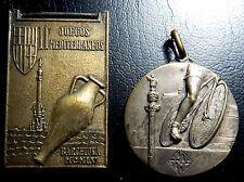 577-INDALO- Vuelta Ciclista a Francia, Barcelona 1957- Juegos Mediterraneos 1955